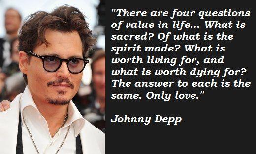 johnny depp quotes - G...