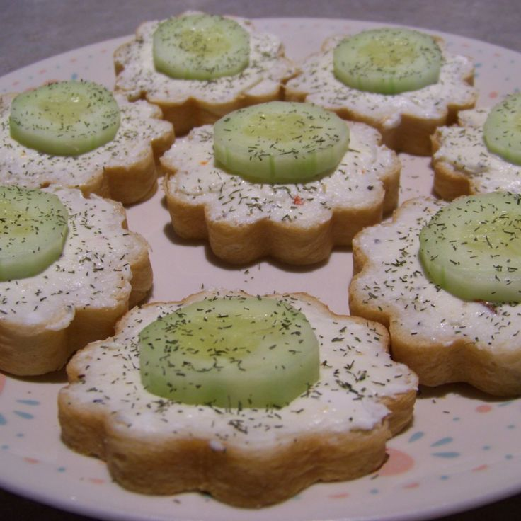 Cucumber Sandwiches. Will need to find those tins I have to try this.