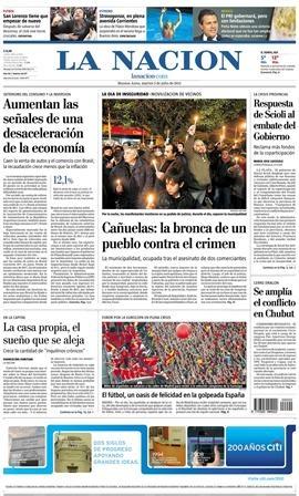 Las noticias de la Edición Impresa de La Nación