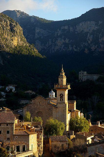 Picturesque village of Valldemossa in #Mallorca Island #Spain