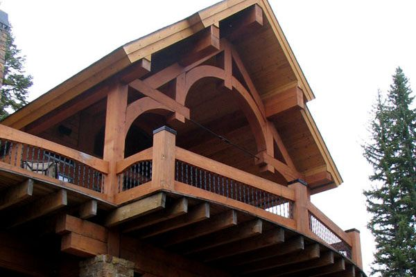 Custom Timber Frame Truss My Future Home Pinterest