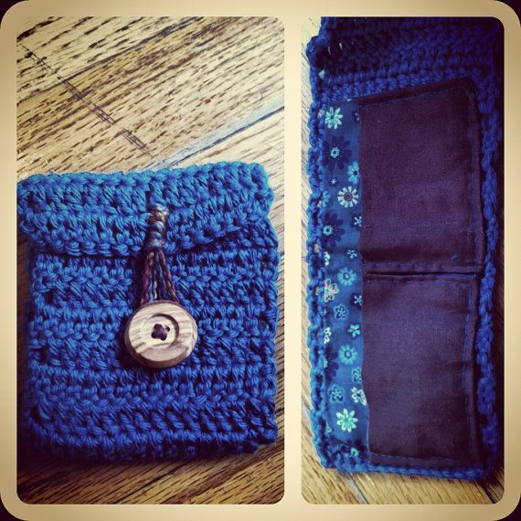 ... by Linda Huff on Crochet Coin Purse,Wallets,Business Card Holder