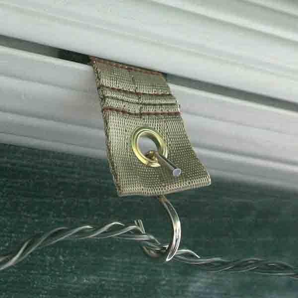 RV party light awning  hooks