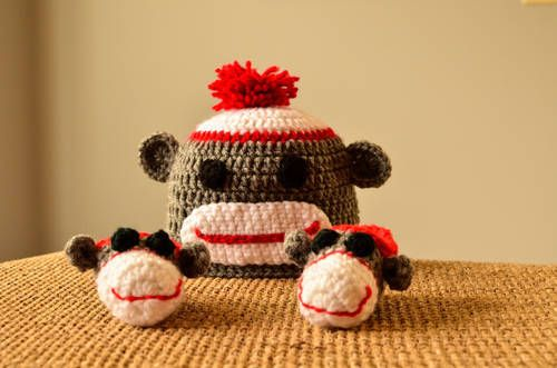 New 587 Crochet Sock Monkey Baby Booties Pattern Baby Booties Pattern