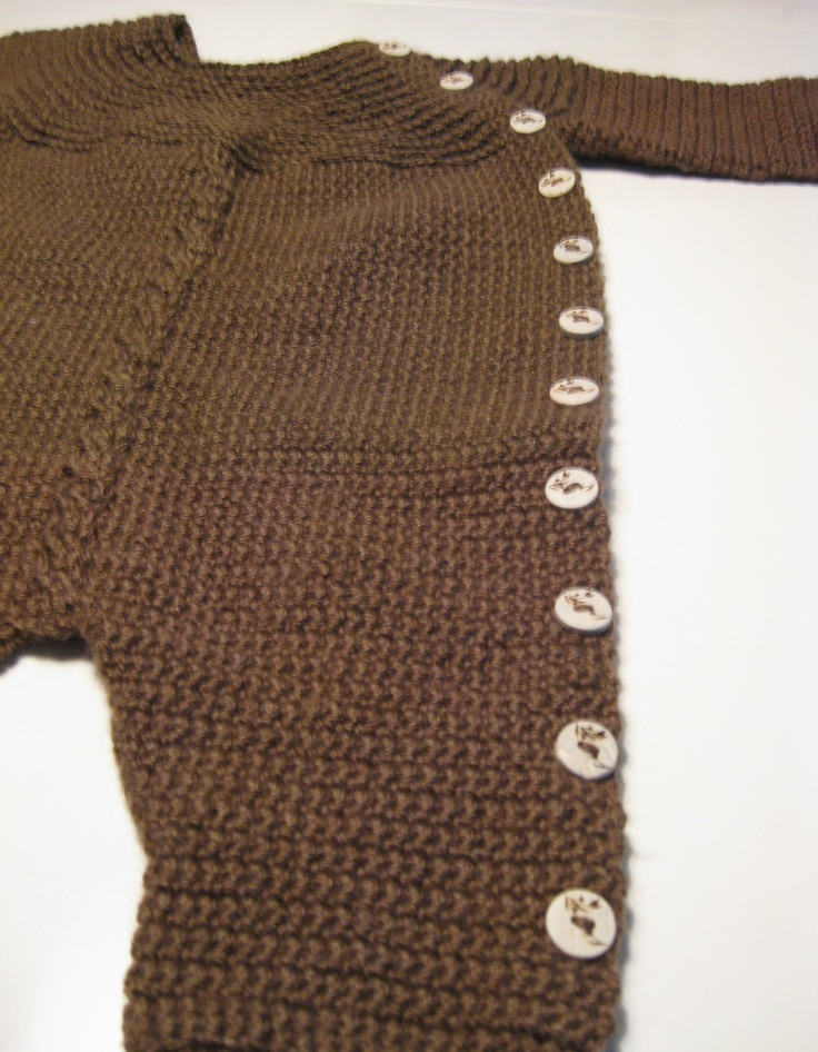Crochet baby Jumpsuit, newborn. Crochet Aussie Baby Pinterest