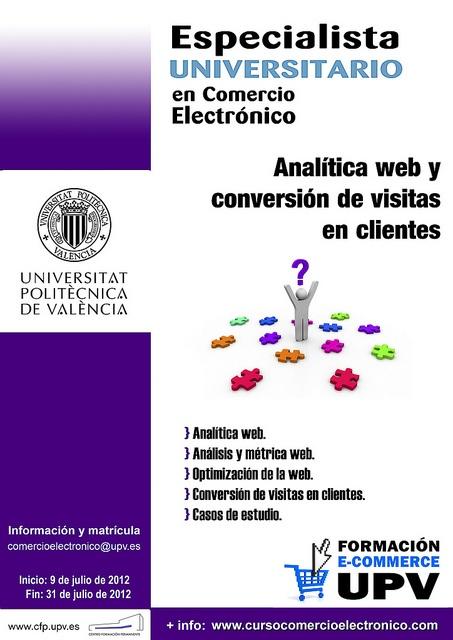 Módulo 4: Analítica web y conversión de visitas en clientes, via Flickr.