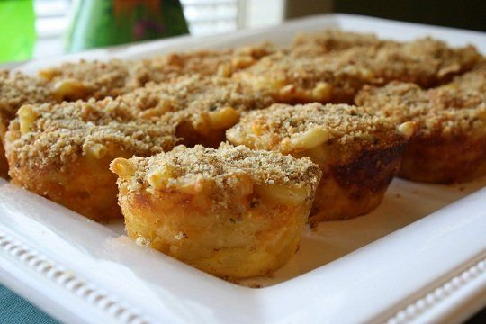 10 Muffin Tin Meals | Baked Macaroni and Cheese Cupcakes