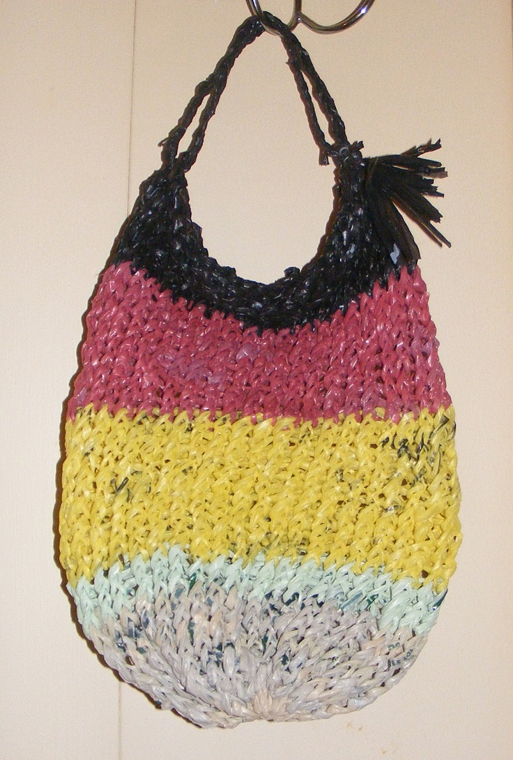 Bag Knitting Patterns In The Round : Pin by Valerie Edie on Knifty Knitter Loom Projects Pinterest