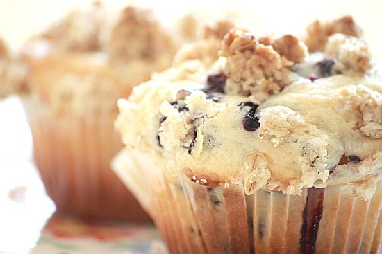 Blueberry Sour Cream Muffins | Cupcakes and Muffins | Pinterest