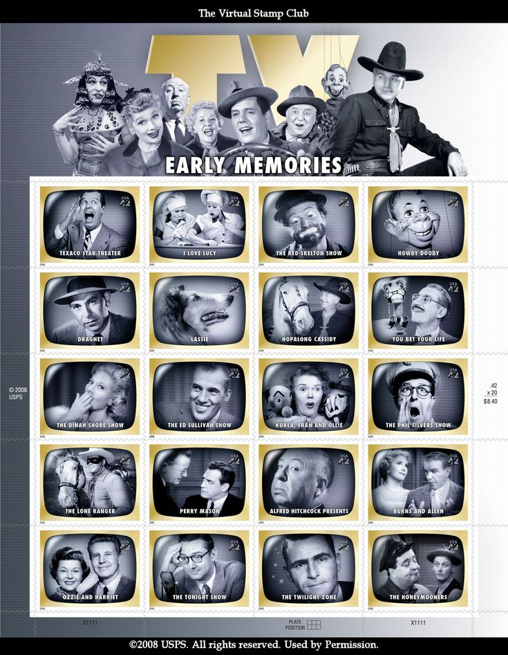 1950s tv shows: