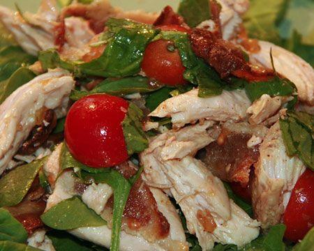 BLT Chicken Salad | Chicken | Pinterest