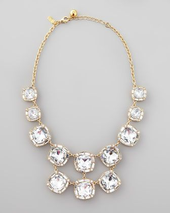 Kate Spade ''on the town'' crystal necklace