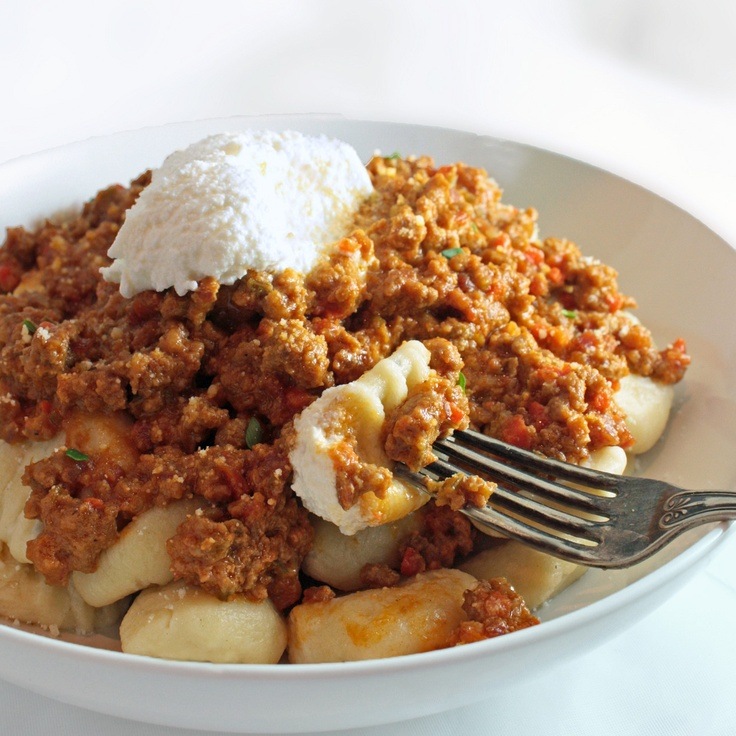 Saveur's 'Classic' Ragù alla Bolognese served with Homemade &quot...