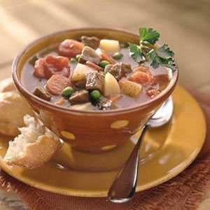 Slow Cooker Beef Vegetable Soup | Yum... | Pinterest
