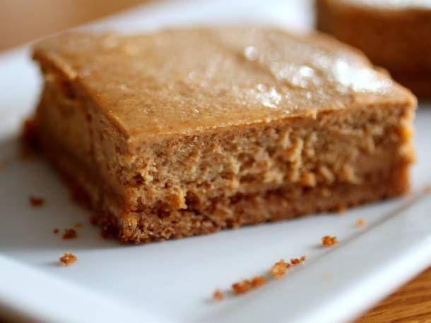 Sweet Potato Cheesecake Bars...very adaptable recipe...gluten free ...