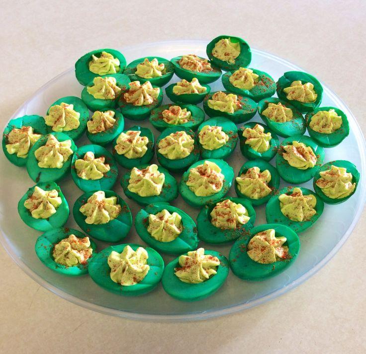 deviled eggs denver green chili green chile easter chick deviled eggs ...