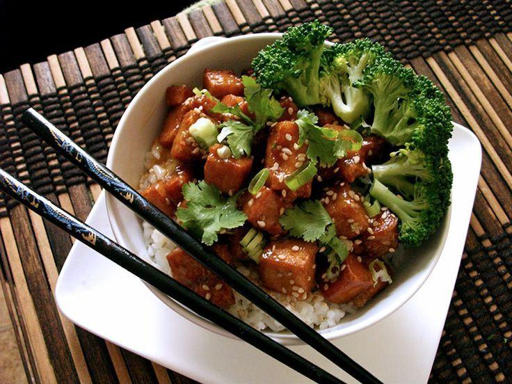 Sesame Tofu ?Adventures in Vegan Cooking   Reckon I'll Do Food   Pint ...