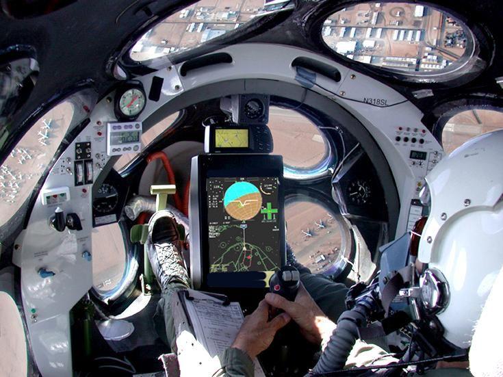 SpaceShipOne Cockpit Interior
