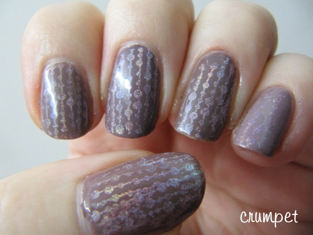 Taupe Holo Beaded Curtains | Nail Designs | Pinterest