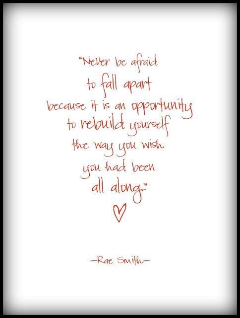 rebuild yourself love pinterest