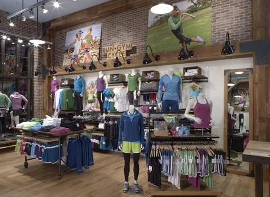 Athleta store interior work it out pinterest