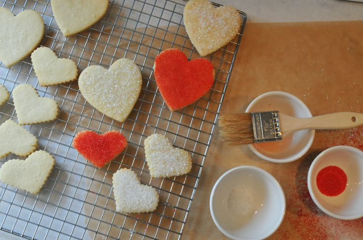 Recipe | Decorating Cut-Out Cookies with Sanding Sugar | Bakery Style