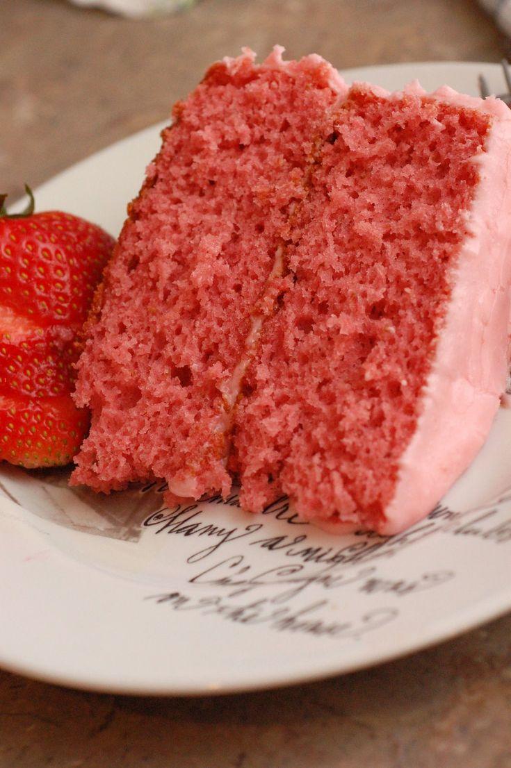 paula deen strawberry cake recipes