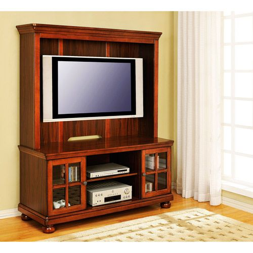 Better Homes And Gardens Tv Stand And Hutch Madison Cherry For Tvs