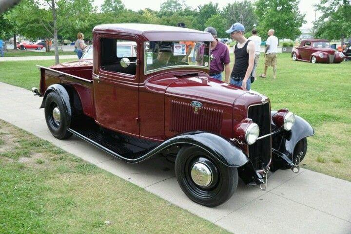 1934 Chevy Pickup Love Hot Rods Pinterest