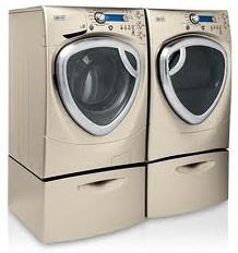 ge profile front load washer and dryer appliances retro new pinterest. Black Bedroom Furniture Sets. Home Design Ideas