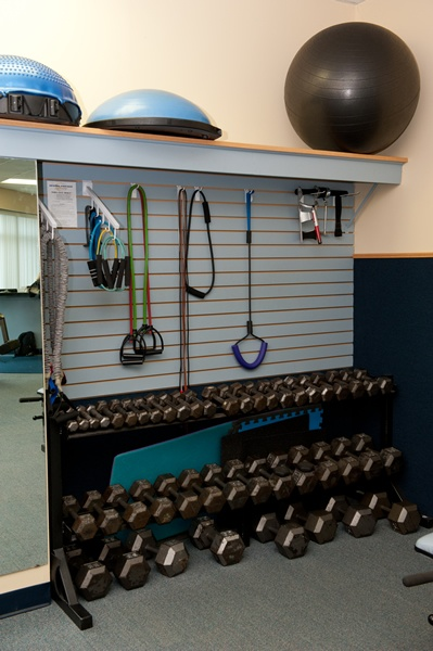 Exercise equipment storage make home organized neat