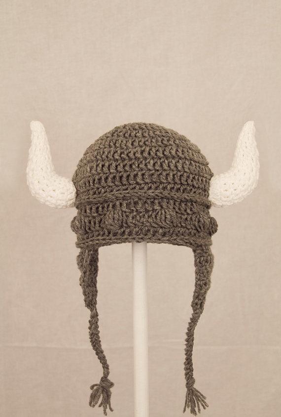 Minnesota Vikings Beard Hat, Purple and Gold Crochet ...