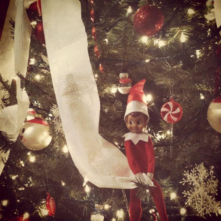 Elf on the shelf | Elf ideas | Pinterest