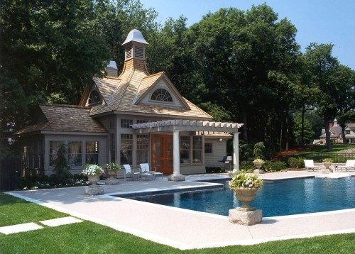 Pool Guest House Pool Yard Scape Pinterest