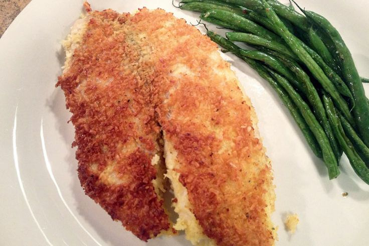 Made this....yum! coconut-tilapia | Food for Me | Pinterest