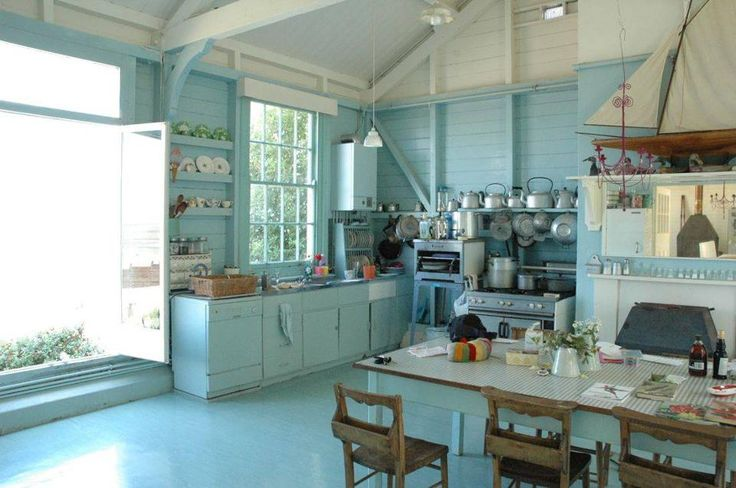 Nautical kitchen awesome decor pinterest for Nautical kitchen designs