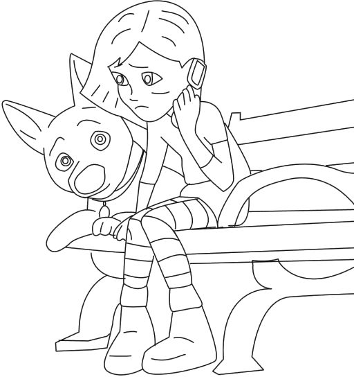 coloring pages on grief - photo#6