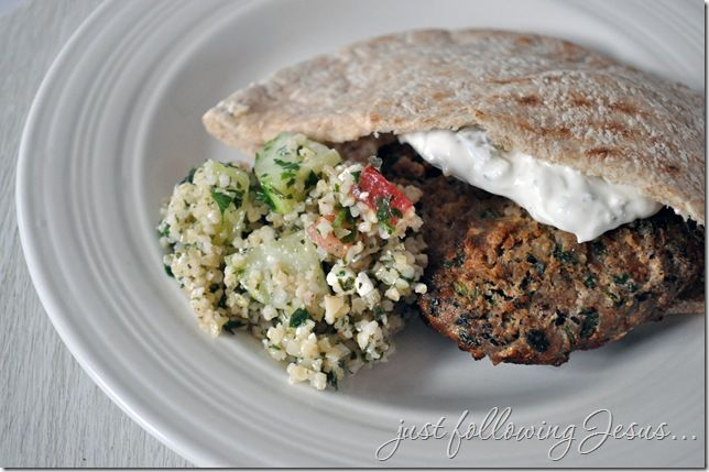 Grilled Middle Eastern Turkey Burgers | Main Dish | Pinterest