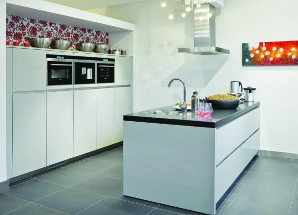 Keukeneiland met brede lades  Keuken ideeën  Pinterest