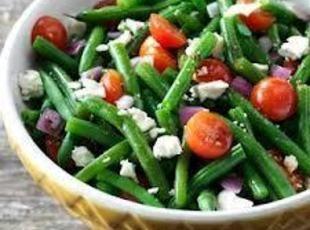 BALSAMIC GREEN BEAN SALAD | salads | Pinterest