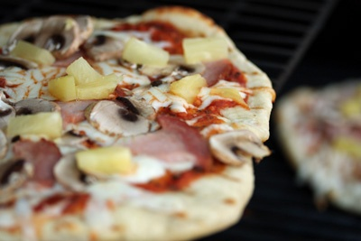 pizza on the grill | I'll make you banana pancakes, pretend that it's...