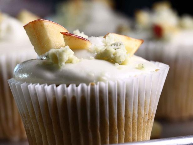 Apple Blue Cheese Cupcake