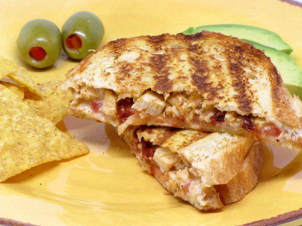 Southwest Chicken Panini | yummy in the tummy | Pinterest
