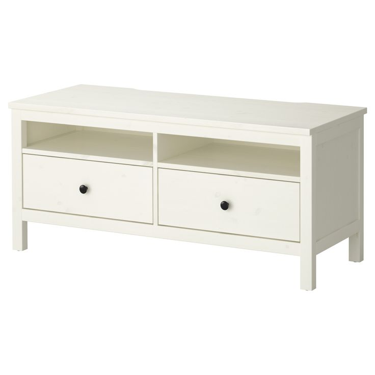 Hemnes Tv Unit White Stain : HEMNES TV unit  white stain  IKEA  will stain a dark color and