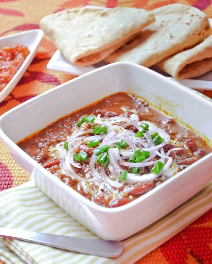 Rajma - Red Kidney Bean Curry | Recipes - Beans | Pinterest