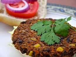 Spicy Black Bean Burgers With Chipotle Mayonnaise Recipe — Dishmaps