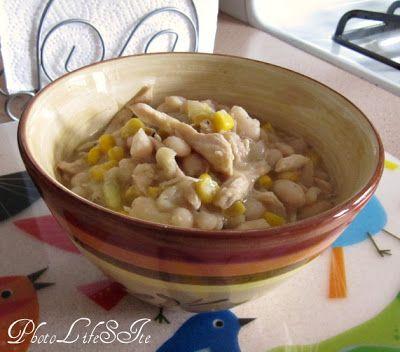 PhotoLifeSite: Hearty White Bean Chicken Chili