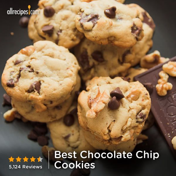 "Best Chocolate Chip Cookies | ""This is my go-to, never-fail cookie! I ..."