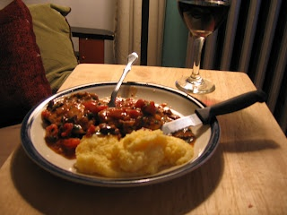 mmmm quick amp easy polenta amp chicken provencal
