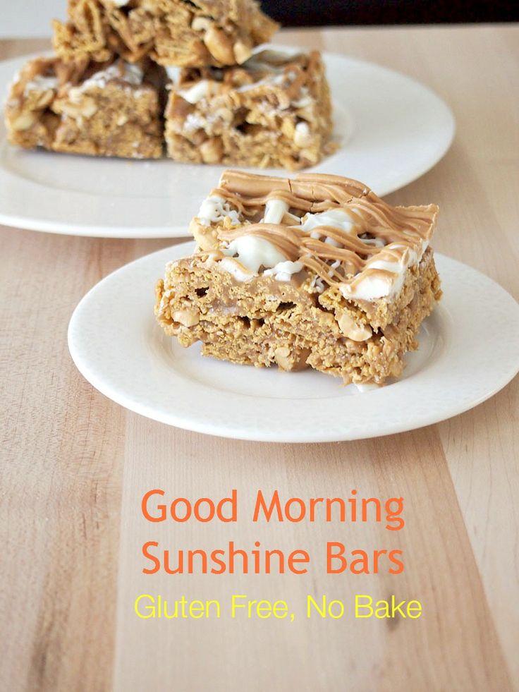 Good Morning Sunshine Bars | Recipe